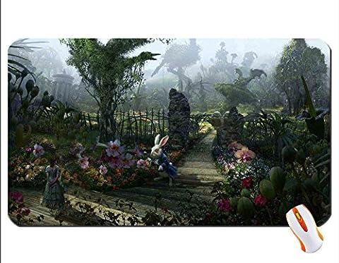 Alice in Wonder Land papier peint de souris Super Big Mousepad Dimensions: 59,9x 35,1x 0,5cm (60x 35x 0.2cm)