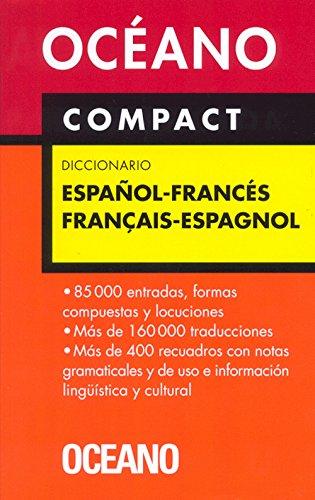 Océano Compact Diccionario Español - Francés / Français - Espagnol (Diccionarios) por FRA/ESP