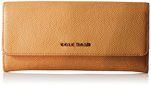 cole-haan-emilia-flap-wallet-pecan-toasted-almond-one-size