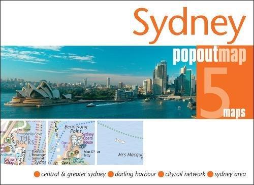 Sydney PopOut Map (PopOut Maps) por PopOut Maps