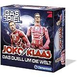 Clementoni 69021.3 - Joko und Klaas - Das Duell um die Welt, Brettspiel + Clementoni 69379.5 - Joko gegen Klaas Ergänzungsset