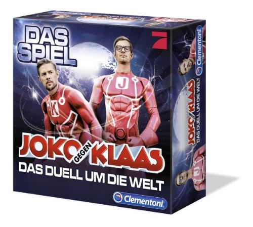 Clementoni 69021.3 – Joko und Klaas – Das Duell um die Welt, Brettspiel