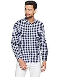 Lee Men's Checkered Slim Fit Casual Shirt - B078HWSLRN