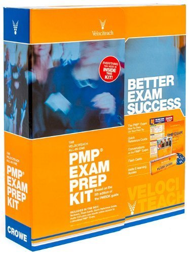 The Velociteach All-In-One PMP Exam Prep Kit: Based on the 5th edition of the PMBOK Guide (Test Prep series) Hardcover February 15, 2014