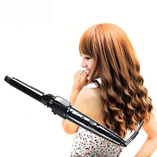 Foto de Conjunto de rizadores de cabello caliente intercambiables 5 en 1 100% rizos de cerámica de turmalina establecidos
