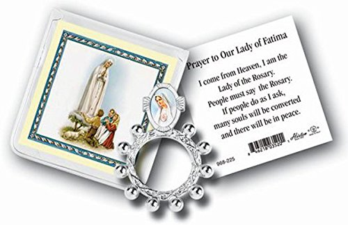 stealstreet Our Lady of Fatima Finger Rosenkranz
