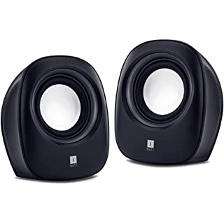 iBall Sound Wave2 – Multimedia 2.0 Stereo Speakers, Black