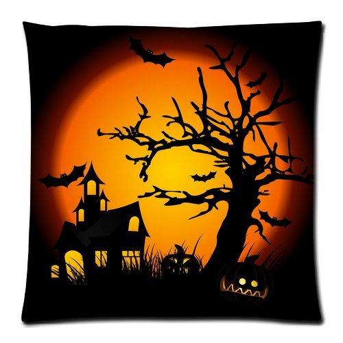 appy Halloween Kissenbezüge Horror Design Kissen 18x 18(Zwei Seiten) ()