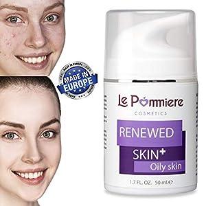 Le Pommiere Tratamiento Acné gel 50ml. Ayuda a remover espinillas, granos en cara o cuerpo. Anti imperfecciones facial y…