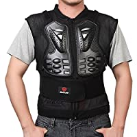 Aesy Adults Motorcycle Body Armour Chest Back Spine Protector Guard Vest, Protective Gear for Dirtbike Bike Motorcycle Motocross Skiing Snowboarding (M)