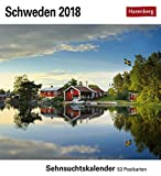 Schweden - Kalender 2018: Sehnsuchtskalender, 53 Postkarten - Torbjörn Skogedal