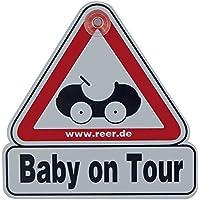 Kind Geschenk Autoschild … Baby on Board Prinz Leon An Bord mit Krone Personalisierte Autokennzeichen Neues Baby Junge Präsentieren