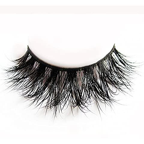 Arison Lashes Fur Fake Eye Lash False Eyelashes 3D 100%