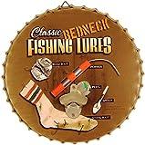 Redneck apribottiglie a forma di esche da pesca