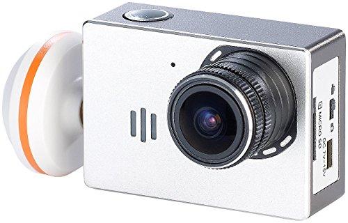 Simulus Zubehör zu Outdoor Helm Camcorder: HD-Action-Cam DV-1080.FPV für QR-X350.PRO (Helmkamera)
