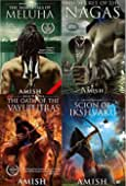 Amish Tripathi Complete Collection (The Secret of Nagas, The Immortal of Meluha...