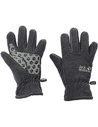 Jack Wolfskin Kinder Fleece Handschuhe KIDS FLEECE GLOVE grey heather grau