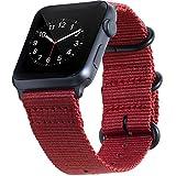 BarRan reg; Apple Watch Sport correa 42mm, Nylon Quick Release Adapters correa de reloj para Apple Watch Sport,Series 3, Series 2, Series 1