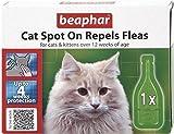 Beaphar Cat Spot On Flea Drops (Pack Size: 4 Weeks)
