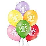 OCBalloons Palloncini Primo Compleanno multicolor addobbi e decorazioni per feste party conf 25pz