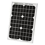 10W Photonic Universe solar panel for motorhome, caravan, camper, boat, yacht or any other 12V off-grid power system (tricke charger)