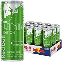 Red Bull Lime Bebida Energética - Paquete de 12 x 250 ml - Total: 3000