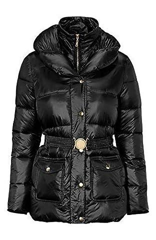 Manteau Brillant - Grande taille 10-24 UK Dames femmes effet