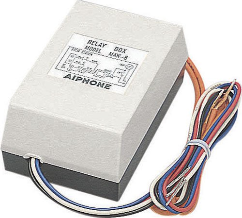 Aiphone MAW-B External-Light Activation Relay for Video Intercom System by Aiphone Aiphone Intercom