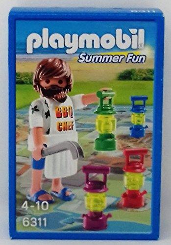 Playmobil 6311 Summerfun BBQ Chef mit Brettspiel [Edizione: Germania]