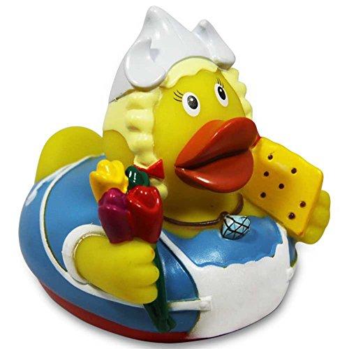 Preisvergleich Produktbild HC-Handel 916648 Vinyl Badeente City Duck Amsterdam 8 cm
