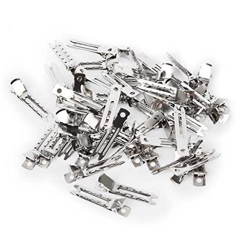 haobase-60pcs-doppio-polo-di-metallo-alligator-dei-capelli-clips-argento