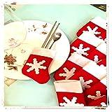 Global Brands Online Las Mini Navidad Calcetines Cubiertos árbol de Navidad decoración Colgante