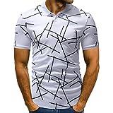 MRULIC Herren T-Shirt Sweatshirt Beliebte Neue Mode Shirt Festliches Hemd Oktoberfest(Weiß,EU-48/CN-XL)