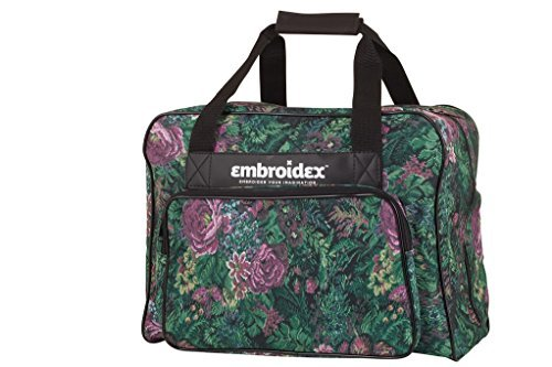 Floral Nähmaschine mit Fall - Carry Tote/Tasche Universal -