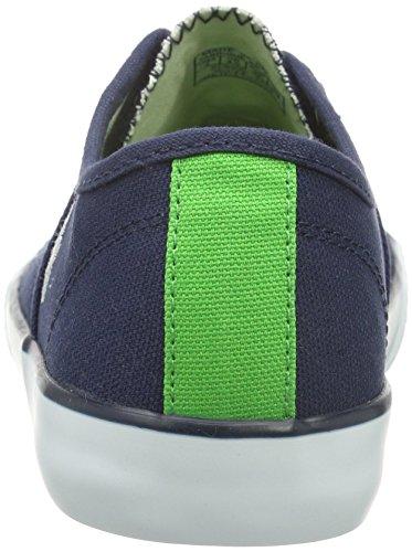 Polo Ralph Lauren Daymond, Baskets Basses mixte enfant Bleu - Blau (navy canvas-white)