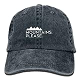 Best Caps KBETHOS Baseball - Mountains Please - Outdoor Camping and Climbing Adjustable Review