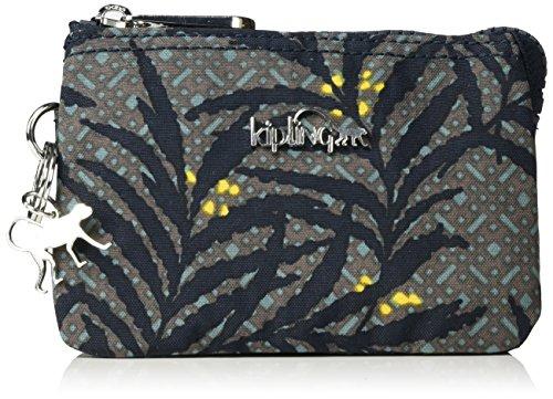 Kipling - Creativity S, Portamonete Donna Multicolore (Tropic Bloom)