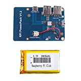 Crazepony-UK Lithium Battery Expansion Board for Cellphone Raspberry Pi 3 Model B Pi 2B B