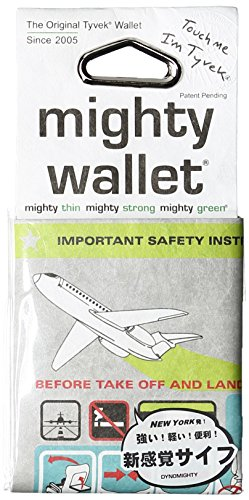 Dynomighty Wallet. Geldbörse aus Tyvek - In Flight (Design Dynomighty)