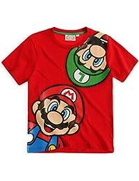 Nintendo Boys Short Sleeved Super Mario Cotton T-Shirt