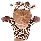 TOYMYTOY Burattino da mano Marionetta a guanto a forma di Cervo per giochi e giocattoli bambini