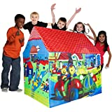 Novelty Multicolor Kid's Tent House, Jumbo Size Tent House (Normal Tent House)
