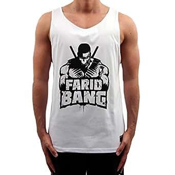 Farid Bang Tanktop Logo Weiss (S)