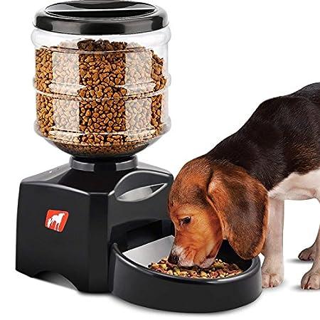 Madisun Futterautomat Katze, Automatischer Futterspender für Katze und Hunde, Futterautomat Programmierbar mit Timer/LCD…
