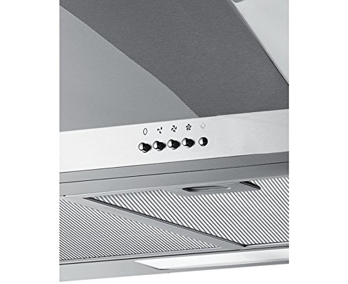 Ferretti 600 mm in acciaio inox canna fumaria cappa for Cappa cucina senza canna fumaria