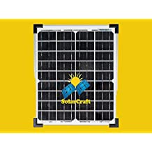 Panel Módulo Unidad solar nuevo 10x 5watt 12V Monocristalino fotovoltaica