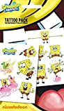 "GB Eye ""Spongebob, Spongebob Squarepants"" Tattoo Pack, Multi-Colour"