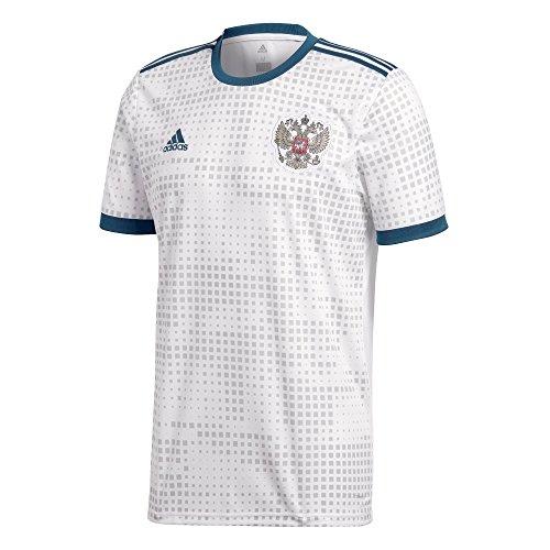 adidas Kinder Russland Replica Auswärtstrikot, White, 140.0