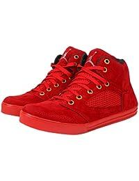 Butchi Men's Stylish Classic Classic Red Casual Shoe