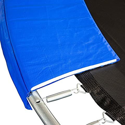 AWM Trampolin Randabdeckung PVC 350 mm Abdeckfläche UV Beständig Federkranz, 430 cm, T-RA-B430